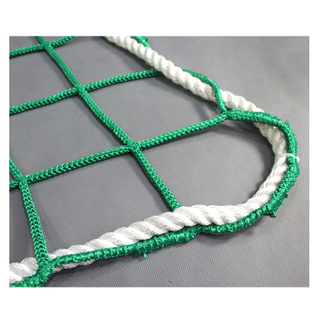 Intop Customized Polyester Construction Knotless Sport Fall Protection Safety Net for Sale