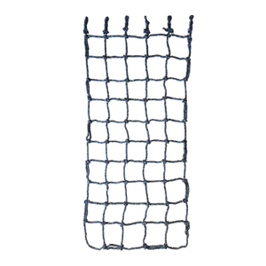 Black UV Resistance Polyester Knotted Climbing Cargo Net for Children