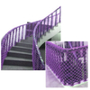 Hot Sale Customizable Polyester Purple Color Safety Net for Balcony