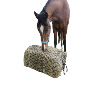 Custom Knotless Slow Feed Hay Net Hay Bale Net Bag with Cheap Price