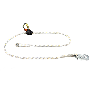 Hot Selling Cheap Price Adjustable Rope Positioning Lanyard for Fall Protection