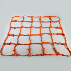 High Quality UV Stabilized Orange Color Knotless Playground Climbing Net with Cheap Price