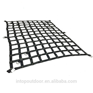 Intop Durable Polyeste Black Safety Web Customized Cargo Net for Sale
